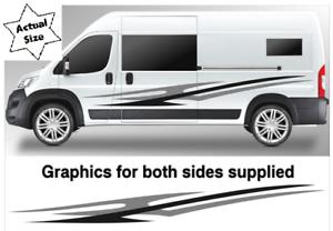 No-823-Camper-Van-motorhome-graphics-Horsebox-Caravan-RV-Decals-Vinyl-Sticker