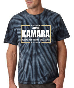 Tie-Dye Alvin Kamara New Orleans Saints AK41 WHO DAT T-Shirt