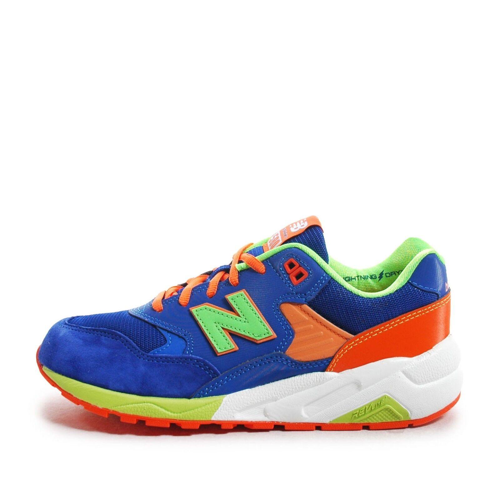 New Balance Casual MRT580BM D [MRT580BM] Men Casual Balance Shoes Cobalt Blue/Orange US 9.5 93c530