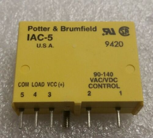 TE Connectivity Potter /& Brumfield Relay IAC-5