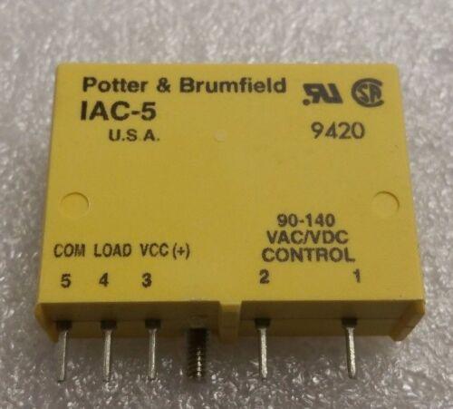 TE Connectivity Potter /& Brumfield Relay IAC-5