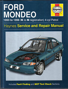 ford mondeo 1993 96 k to n 4 cyl petrol haynes service repair rh ebay ie haynes manual ford mondeo 1996 manual de taller ford mondeo 1996