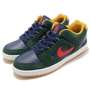 f704e6a4841 Nike SB Air Force II Low 2 Midnight Green Gum Men Skate Boarding ...