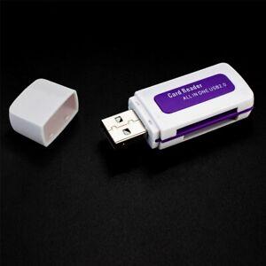 Kartenleser Cardreader TF SD SDHC MicroSD MicroSDHC MMC MMCmicro RS-MMC weiß