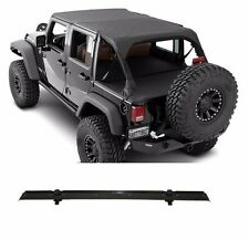 Smittybilt 94635 Extended Top 2013 Jeep Wrangler JK 4-Door with Header Channel