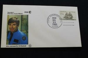 Space-Shuttle-Cover-1983-Mano-Cancel-STS-9-Columbia-Dr-Ulf-Merbold-2833