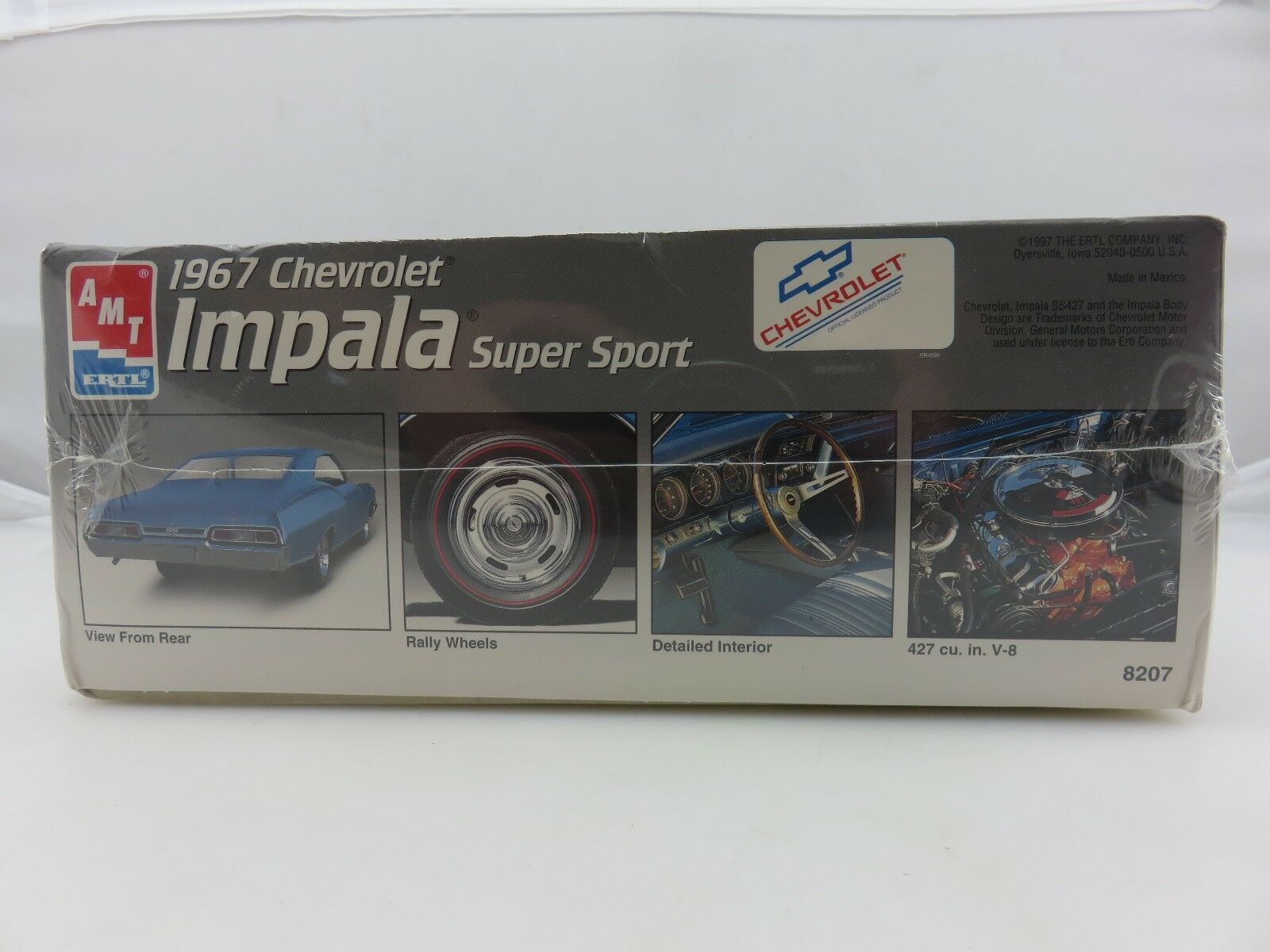 Amt Ertl 1967 Chevrolet Impala Super Sport 427 V 8 Model Kit 1 25 Ebay 1951