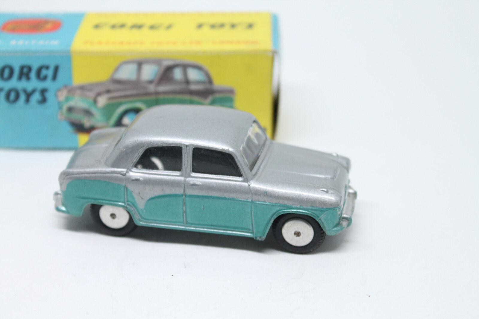 Corgi toys 201m  Austin Cambridge Saloon  1961  embalaje original  Mechanical motor