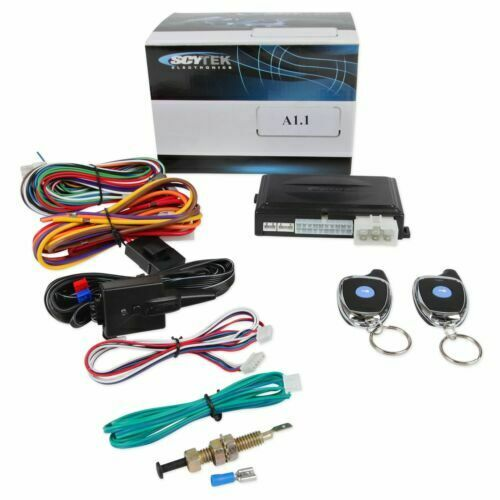 1 button complete remote start system 2 way with bypass module Scytek A1.1 ALCA