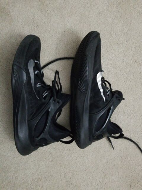 Nike Zoom HyperRev 2015 BlackMetallic Silver Men's Shoes 705370 001 Size 8.5