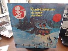 soirée québécoise du temps des fêtes -  Kébec disc RCA KDL 8012