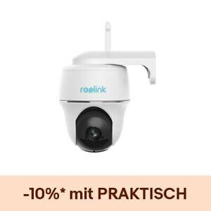 Reolink Argus PT 1080p Akku Kabellose WLAN IP Kamera Pan Tilt Überwachungskamera