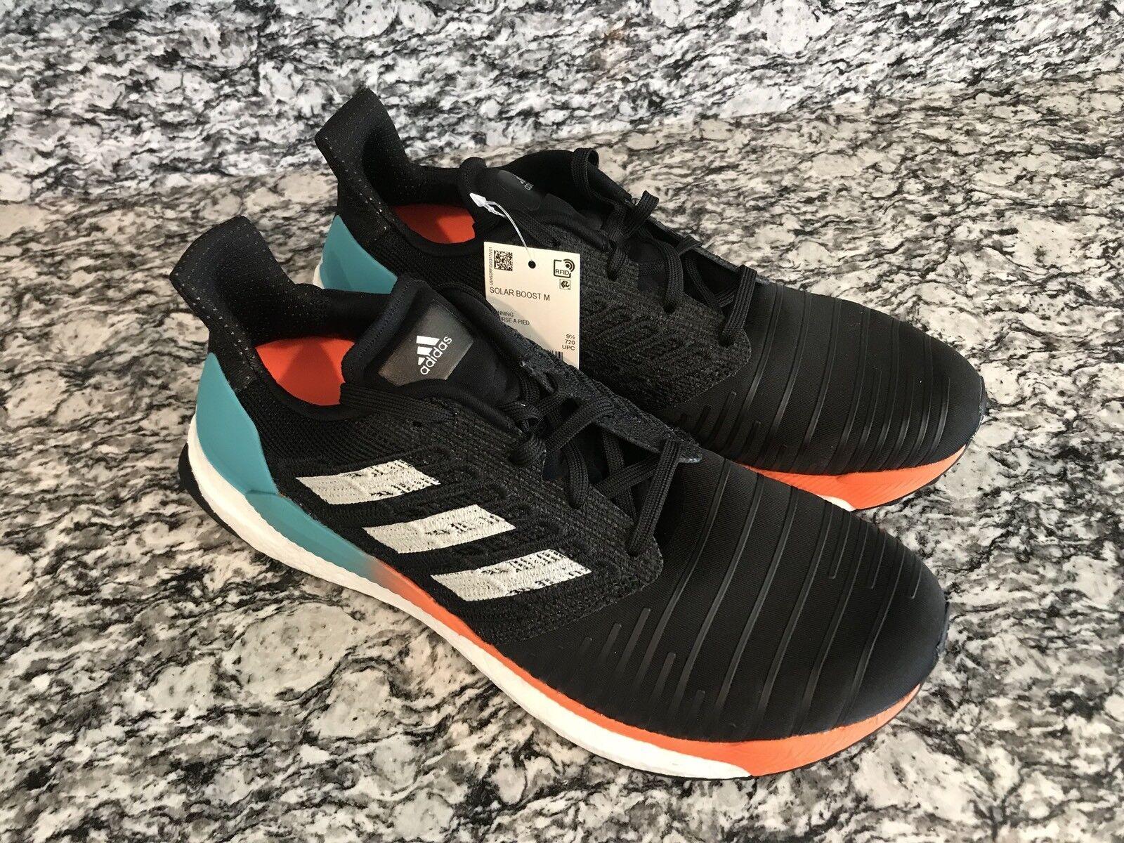 Adidas Adidas Adidas solar impuls m hi - res - aqua schwarz - grauen männer sz 8,5 laufschuhe cq3168 5b9239