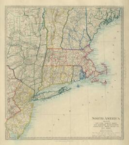 Details about USA New York Maine Machusetts Connecticut New Jersey on usa map michigan, usa map oklahoma, usa map minnesota, usa map georgia, usa map new york, usa map kentucky, usa map florida, usa map maryland, usa map california, usa map mississippi, usa map hawaii, usa map new hampshire, usa map alabama, usa map pennsylvania, usa map connecticut, usa map virginia, usa map vermont, usa map portland, usa map nevada, usa map arizona,