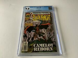 WHAT IF 97 CGC 9.8 WHITE PGS BLACK KNIGHT DOCTOR DOOM CAMELOT MARVEL COMICS 1997