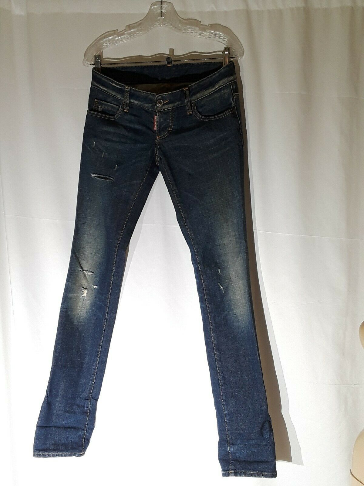Dsquared2 Women's Slim Distressed Jeans Size 38