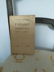 Philippe-Soupault-EO-Exemplaire-numerote-Poesies-Completes-1917-1937