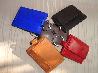 *Herren//Damen Ledergeldbörse-Rot-Rindleder-hochformat-italbörse Kollektion