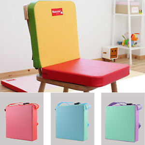 Details About Soft Baby Safe Booster Dining Cushion Kids Toddler Increased High Chair Seat Pad