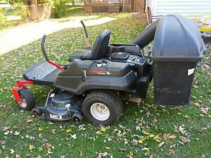"""troy-bilt mustang xp 24hp-50""""deck zero turn lawn mower w/ twin"""