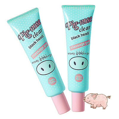 [HOLIKA HOLIKA] Pig-nose Clear Black Head Peeling Massage gel 30ml