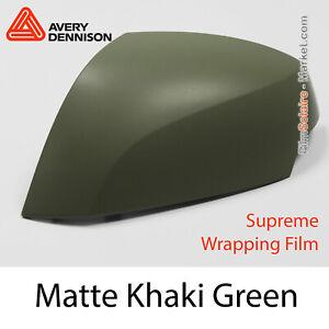 AW7280001 Avery Dennison Supreme Wrapping Film Matte Khaki Green