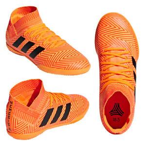 Adidas-Nemeziz-Tango-18-3-IN-J-Kids-Shoes-Boys-Youth-Soccer-Sneaker-Futsal-11-5
