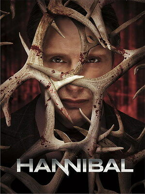 "051 Hannibal Season - American TV Series 1 2 3 Shows 14""x19"" Poster"