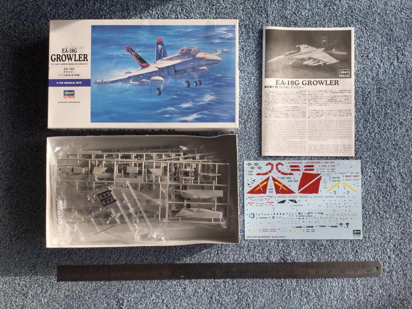Hasegawa 1 72 E38 EA-16G Growler