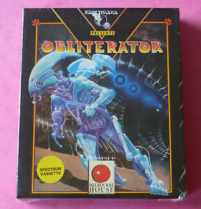 Sinclair-ZX-Spectrum-Psygnosis-OBLITERATOR-w-Booklet-1989-NEW-amp-SEALED