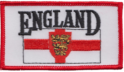 RECTANGULAR CUSTOM EMBROIDERED PATCH bilkro patch Quality Badge