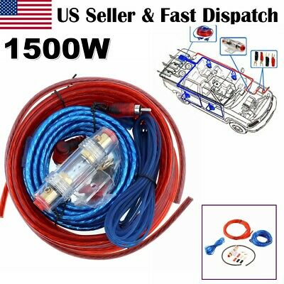 USA 8 Gauge Car Audio Cable Wiring Kit AMP Amplifier Install ... Rca Cable Schematic on wire harness schematic, 25 pin d-sub cable schematic, fiber optic cable schematic, coaxial cable schematic, hdmi cable schematic, xlr cable schematic, rs232 cable schematic, bose cable schematic, ethernet cable schematic, twinax cable schematic, usb cable schematic, mhl cable schematic, shielded cable schematic, rca jack schematic, ribbon cable schematic, bnc cable schematic, sata cable schematic, rca wire schematic,