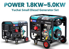 10kw 30kva Diesel Generator 3 Phase Silent Motor
