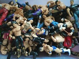 WWE-Wrestling-Figures-Random-Set-of-5-Bundle-Job-Lot-Toys-Kids-The-Rock-Etc