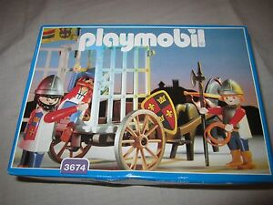 playmobil-nr-3674-ridders-gevangenis-transport-neu-new-3666-3667-3891