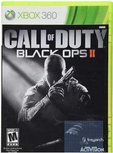 X-box 360 Call of Duty Black Ops 2 Game (2012)