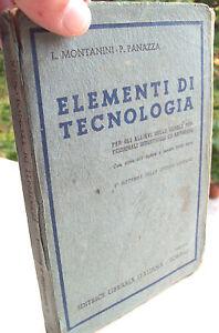 1943-MACCHINE-UTENSILI-MANUALE-TECNOLOGIA-LEGNAMI-METALLI-MONTANINI-E-PANAZZA