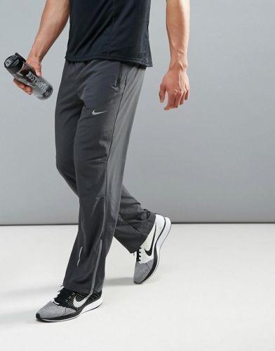NIKE FLEX STRETCH WOVEN MEN'S RUNNING TRAINING PANTS GREY 683885 060