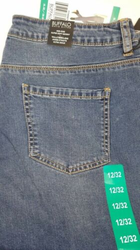 Buffalo David Bitton Womens Pursuit Mid Rise Soft Skinny Leg /& Capri Jeans Mixed