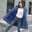 Women Big Fur Collar Coat Winter Warm Outwear Long Parka Hooded Quilted Jacket