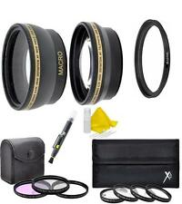 49mm Lens Filter Accessory Kit For Sony Alpha A3000 NEX-5 NEX-6 NEX-7 18-55