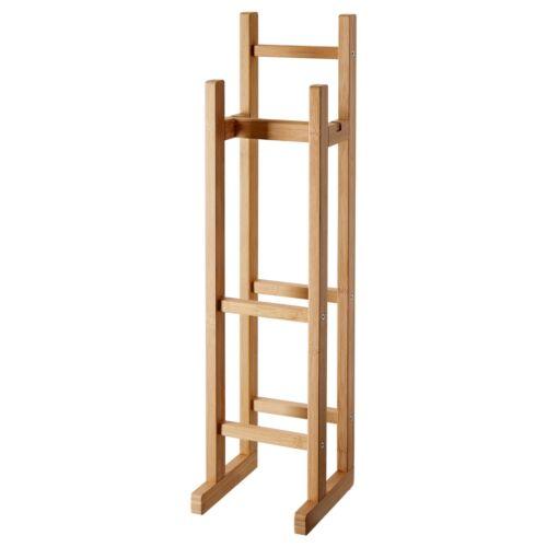 IKEA RÅGRUND Toilettenpapierhalter Klopapierhalterung Bambus WC Toilette IK64
