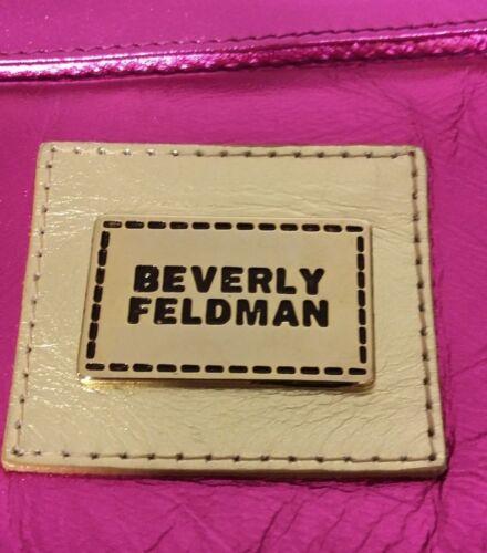 Rosa Originale E Beverly Borsetta Metallizzata Feldman Shocking Pelle Paillettes POfxxw76