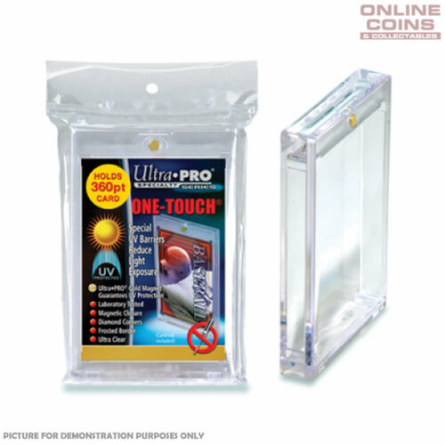 Ultra Pro Specialty Series 360pt Magnetic One Touch Card Protectors BOX OF 12