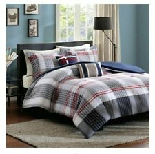 Intelligent Design Paul Comforter Set Red Full//Queen