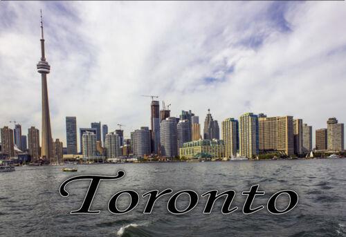 "PMD10002 Toronto 3.25/""x2.25/"" Collectibles Travel Handmade Fridge Magnet"