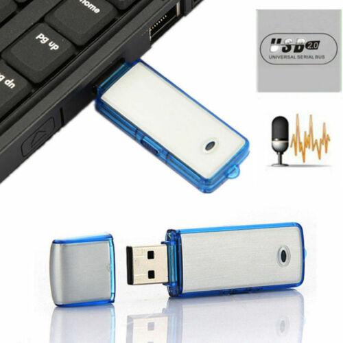 8GB Mini SPY USB Stick Digital Audio Voice Recorder Diktiergerät Aufnahmegerät