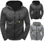 Men-Warm-Hoodie-Hooded-Sweatshirt-Coat-Jacket-Outwear-Jumper-Winter-Sweater-Tops miniature 2