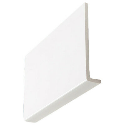 2 x 2.5m White Upvc 9mm thick Clad Over Fascia Boards **various widths**