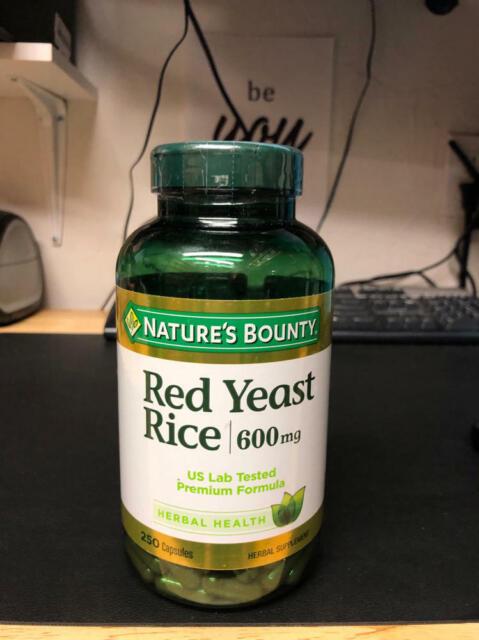Nature's Bounty Red Yeast Rice Pills and Herbal Health Supplement, Dietary